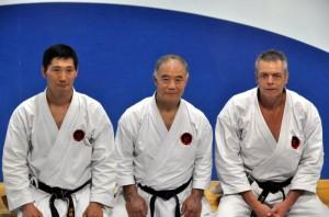 Nakamura Sensei, Higaonna Sensei, Sensei Mac